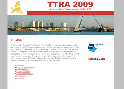 KATHER Produkties: Travel and Tourism Research Association - redesign