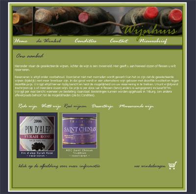 KATHER Produkties: Wijnhuis - seo optimalisatie