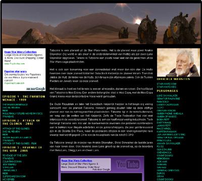KATHER Produkties: planets of starwars: tatooine