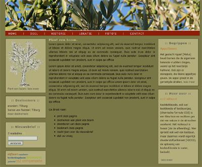 Plant een boom (sponsor project)