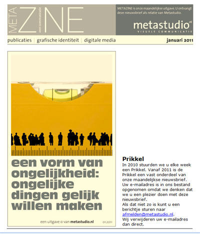 KATHER Produkties: Metastudio Visuele Communicatie (metazine)