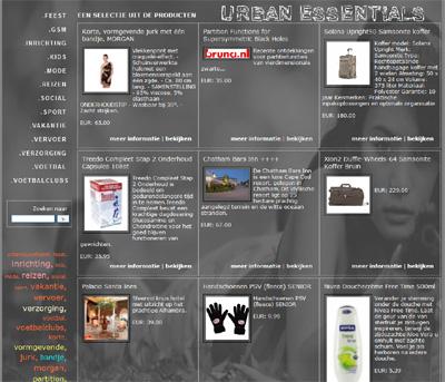 KATHER Produkties: Import UrbanEssentials