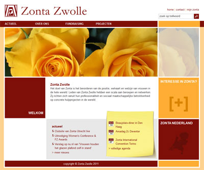 KATHER Produkties: Zonta club Zwolle