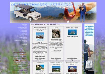 Reisbestemming Frankrijk