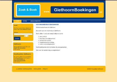 KATHER Produkties: Giethoorn boekingen - fase 2