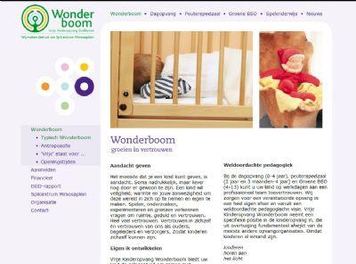 KATHER Produkties: Kinderopvang de Wonderboom - aanpassingen